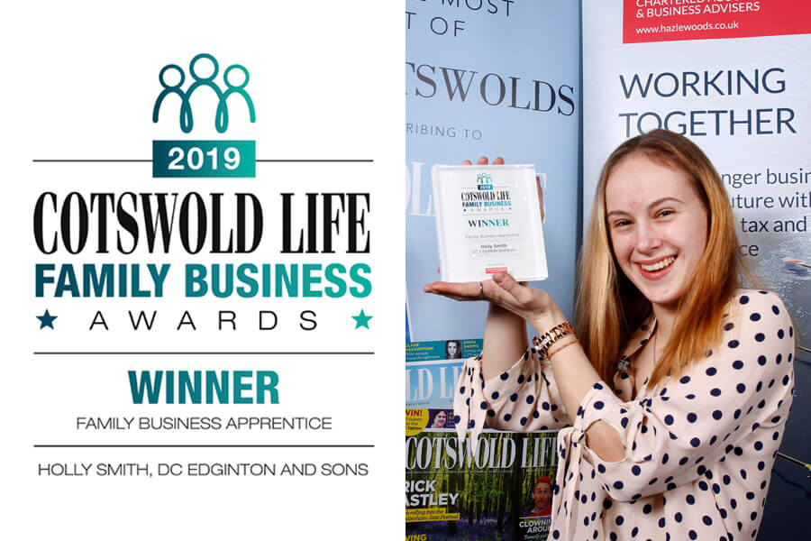 Cotswold Life Family Business Awards Winner! - Family Business Apprentice